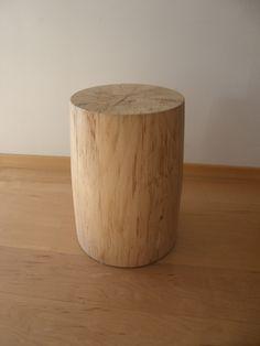 Stool - reclaimed maple wood https://www.facebook.com/RawAndReclaimedWood