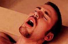 this gif will be the end of me XD / Chris Evans, mmmmmm :3