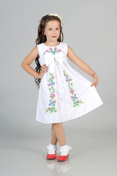 Дитяче плаття вишиванка (арт.103) - Вишиванки купити, українські вишиванки