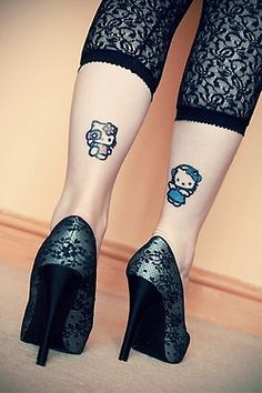 that's a #cute #cartoon #tattoo ....