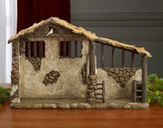 Three Kings Gifts Christmas Nativity Lighted Stable Manger for 10 inch Scale Set *** Click image for more details. (This is an affiliate link) Nativity Stable, Nativity Creche, Christmas Nativity Scene, A Christmas Story, First Christmas, Christmas Crafts, Christmas Decorations, Holiday Decor, Nativity Sets