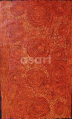 Ningari Dreaming, by Australian artist George Ward Tjungurrayi