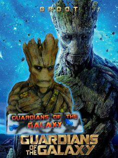 Guardians of the Galaxy, Groot Bust, printed, coloured and finished. Guardians Of The Galaxy, 3d Printing, It Is Finished, Printed, Movie Posters, Color, Art, Impression 3d, Craft Art