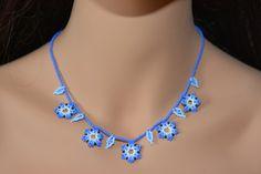 Multicolor necklace, huichol art.  Wear an unique necklace and be unique ! :)