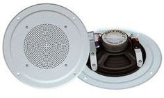 6-1/2'' Full Range In-Ceiling Speaker System W/Transformer