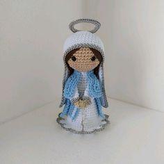 Crochet Baby, Bb, Teddy Bear, Christmas Ornaments, Halloween, Holiday Decor, Animals, Thread Crochet, Crochet Dolls