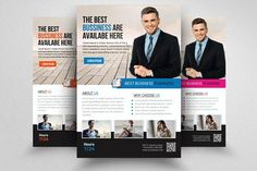 business executive coach flyer by business flyers on creativemarket