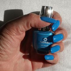 Nailways: Nagellak Swatch 56. Smurf