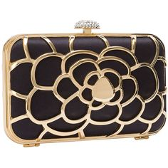 Clutch flower ❤ liked on Polyvore