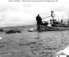USS Arizona, December 7, 1941