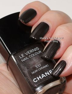 Chanel Noir Ceramic 337 spring 2007 - swatches
