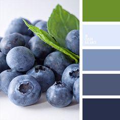 Color inspiration for design, wedding or outfit. More on color.romanuke.com