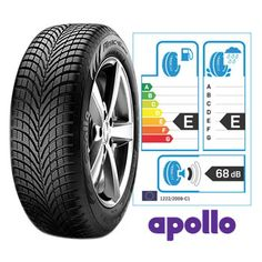 The 185-55R15 Apollo Alnac Winter Tyres is a high performance winter tyre…