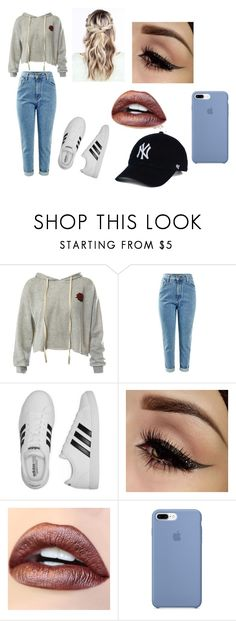"""Kal Casual"" by katminter ❤ liked on Polyvore featuring Sans Souci and adidas"