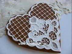 Айсинг, рецепт. Роспись пряников, имбирного печенья глазурью. Глазурь для печенья. Мастер-класс - YouTube