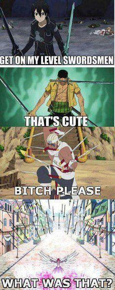 swords haha so funny