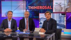 Dr. Oz warns about thimerosal (mercury) in flue shots. This is one thing Dr. Oz is actually right about.