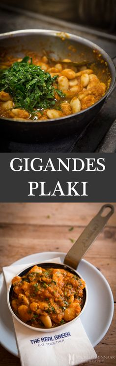 Gigandes Plaki - Gigandes Plaki, Greek baked beans, is the perfect meze dish to accompany every authentic Greek meal. What makes this dish so beautiful is its versatility.