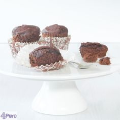 just as much taste, but without lactose: this recipe for lactose free chocolate cupcakes