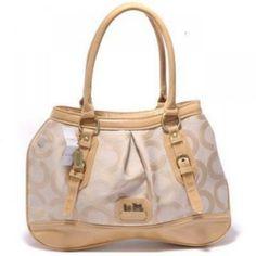 Coach Alexandra Flagship Op Art Handbag Beige http   www.8minzk.com 404563b67327b