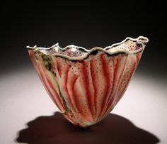 Curtis Benzle. Fantasia.  6x5 inches, porcelain.  http://www.sherriegallerie.com/itemprofile.php?artist=12&item=804&secq=6