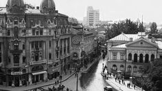 """We have already written, that between the two world wars Bucharest was micul Paris, """"little Paris"""", the city of luxury and of an exagge. Little Paris, Bucharest Romania, Timeline Photos, Old Pictures, Time Travel, Art Nouveau, Louvre, City, Memories"""