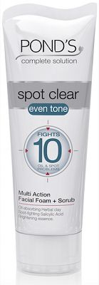POND's Spot Clear Even Tone Facial Foam and Scrub Reviews - POND'S Cleansers,Toners,Washes