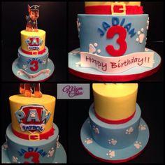 - Paw Patrol cake Harry Birthday, 6th Birthday Parties, Birthday Fun, Fourth Birthday, Birthday Cakes, Birthday Ideas, Paw Patrol Birthday Cake, Paw Patrol Cake, Paw Patrol Party