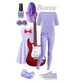 """FNAF- Bonnie"" by living-in-a-small-world ❤ liked on Polyvore"