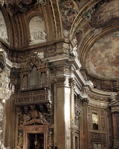 "sylphwings: "" speciesbarocus: Church of the Gesù, Rome. > By corona239. """