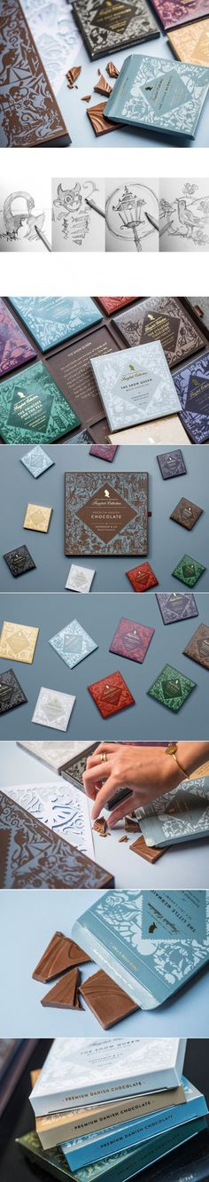 Bessermachen has Turned Your Childhood Fairytales into Beautiful Boxes of Chocolate — The Dieline | Packaging & Branding Design & Innovation News