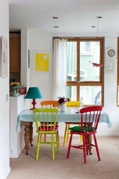 Cadeiras, bancos, pufes ... Poderosos objetos de decoração!