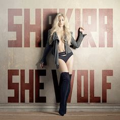 shakira-she-wolf-single-cover.jpg (550×550) // Better than Iggy Azalea