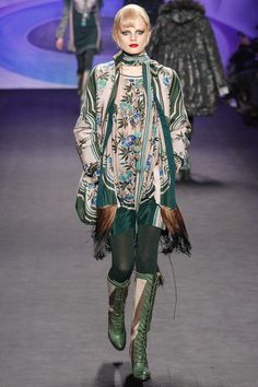 Anna Sui / Fall 2014 RTW / Style.com / Sui's RTW always looks like haute couture to me