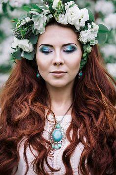 Photo by Katerina Kostina  MUA : Maria Yakunina Model : Alyona Vechkanova
