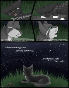 Warriors- Eyes of a Raven- Page 26 Next: serenitywhitewolf.c… Previous: serenitywhitewolf.c… I CANNOT DRAW STARS MEH Starclan= forest cat gods XD Art &. Warrior Cats Scourge, Warrior Cats Clans, Warrior Cats Comics, Warrior Cats Series, Warrior Cats Books, Warrior Cats Fan Art, Raven Comics, Cat Comics, Warriors Memes
