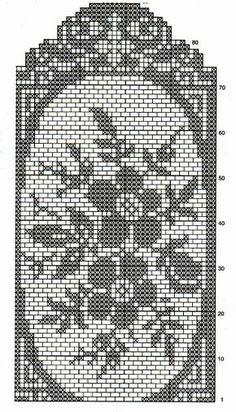 How to Crochet Wave Fan Edging Border Stitch Cross Stitch Pillow, Cross Stitch Borders, Crochet Home, Free Crochet, Crochet Table Runner Pattern, Filet Crochet Charts, Crochet Dollies, Fillet Crochet, Crochet Curtains