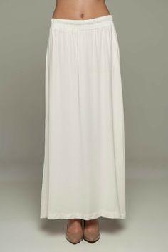 White Elastic Petticoat