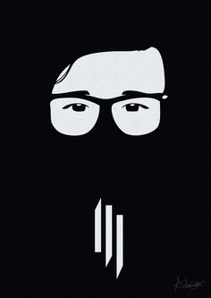 Skrillex illustration Scary Monsters by Aubin A Sadiki