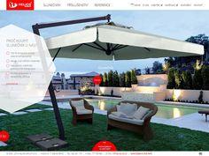 Webové stránky Profi - slunečníky