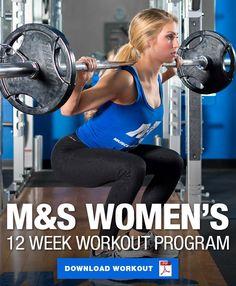 Muscle & Strength's 12 Week Women's Workout Program