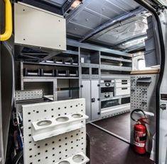 Van Racking, Mobile Workshop, Van Storage, Shop Truck, Cargo Van, Auto Service, Philippe, Shop Ideas, Stool