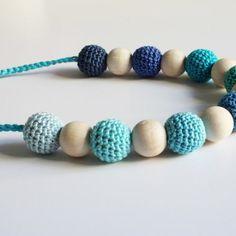 Tutorial IT: Collana di perline all'uncinetto - crochet beads necklace