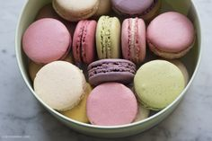 Laduree macarons, specially chosen for color, not necessarily flavor! - Georgianna Lane Photography