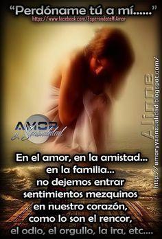 AMOR Y SENSUALIDAD: Perdóname tu a mi..!!