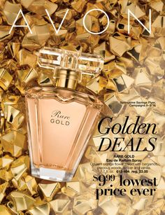 More Than Beauty Needs: Avon Golden Deals Spring Time Savings Flyer - See More
