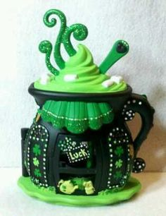 Irish Coffee House * OOAK Custom My Little Pony Littlest Pet Shop