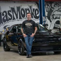 Richard Rawlings, Monkey Style, Gas Monkey Garage, Country Men, Dodge Challenger, Dallas Texas, Classic Cars, Street Rods, Muscle Cars