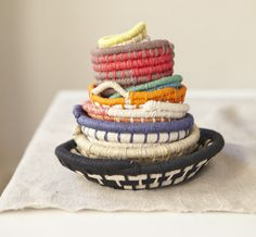 COILED BOWLS by ERIN CONSIDINE
