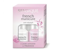 Sensique french manicure
